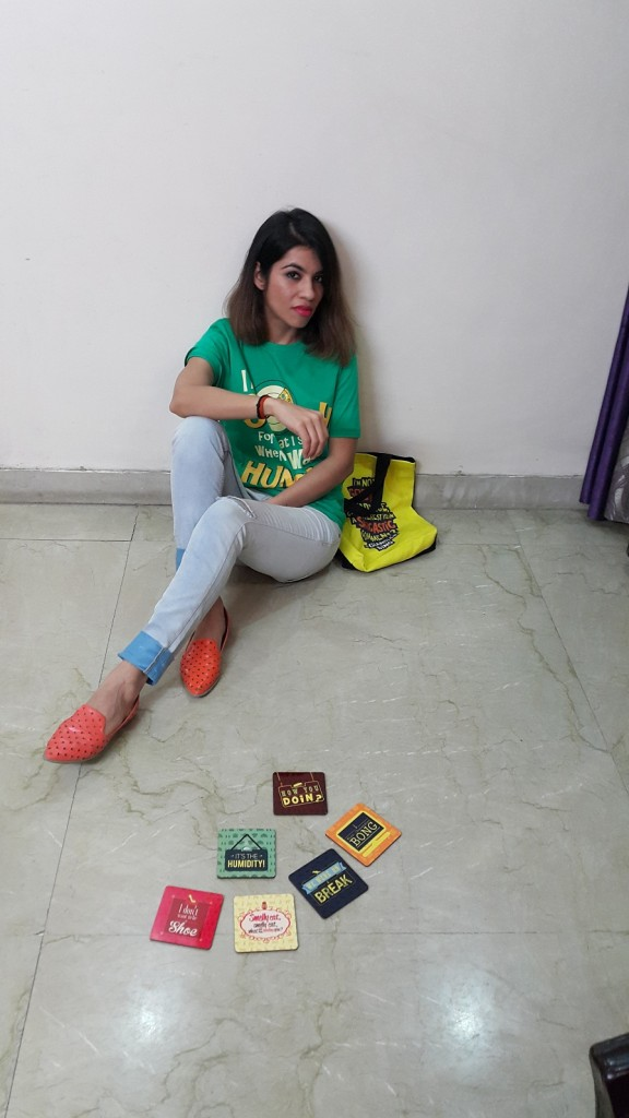 friends, official merchandise, theme wear, collge wear, casual, fun look, youthful, young, relaxed wear, colossal closet, fashion blogger, fashion, mansi wadhwa