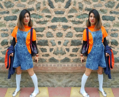 THE KASHMIR KONNECT- BACK TO SCHOOL #OOTD