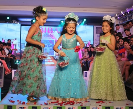 Little BIBA Divas Stole the Show at India Kids Fashion Week In Delhi