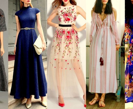 5 MUST HAVE MAXI DRESSES THIS SEASON
