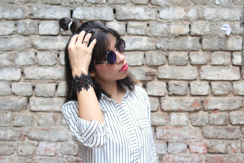 colossalcloset, fashionblogger, stalkbuylove, collaboration, stripes, shirtdress, college fashion, street style. casual wear, striped shirts