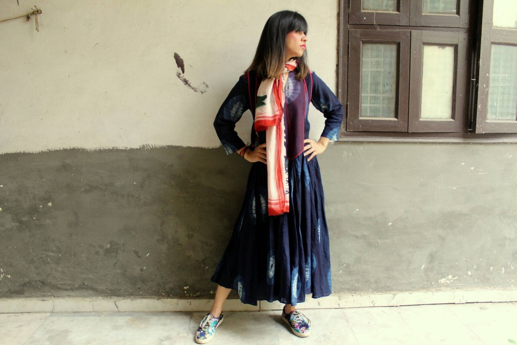 crow, colossalcloset, fashion blogger, blue, traditional wear,Indian wear, bohemian, fashion ideas, poetic, poem, love