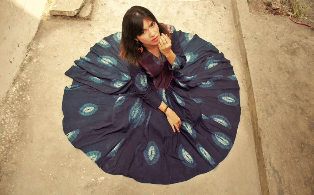 love, love fashion, poems, poetic expression, blue, crow, fashion, colossal closet, fashion blogger, mansi wadhwa, traditional wear, indian wear, tunics