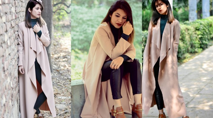 A ROYAL WRAP- Winter Outfit Trench Coat