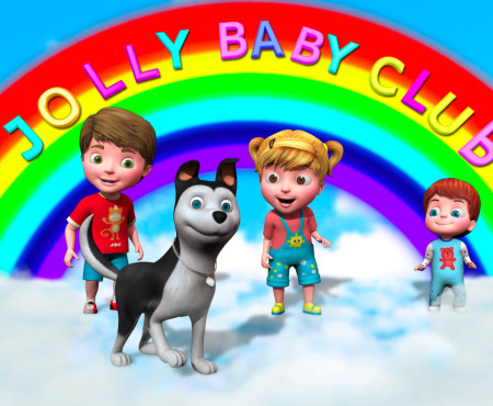NURSERY RHYMES FOR YOUR LITTLE ONES- JOLLY BABY CLUB