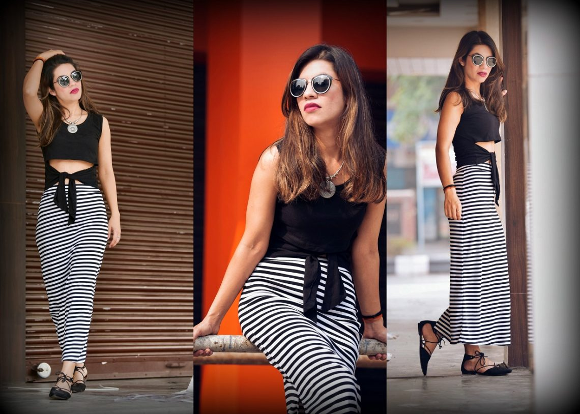 MONOCHROME LOVING WITH SHOPCLUES EOSS