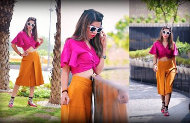 Colossal closet, pop, mansi wadhwa, fashion blogger, zara, ootd, pop, color blocking, retro look, 70s fashion, futuristic