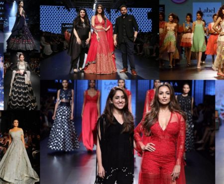 BOLLYWOOD AT THE LAKME FASHION WEEK 2017