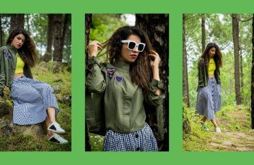 dresslily, streetstyle, fall fashion, fall inspiration, fall trends, fall 2017, millitary, gingham, tartan, colossal closet, mansi wadhwa
